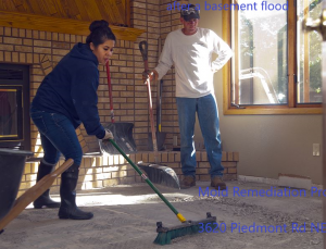 prevent mold after a basement flood